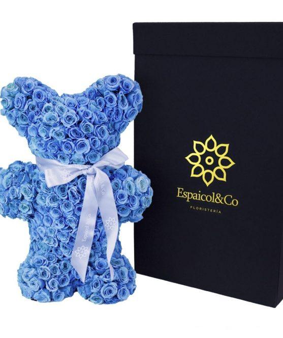 teo azul claro caja