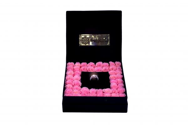 anillo rosa dos